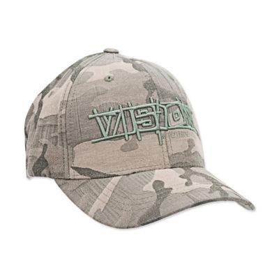 flexfit bamboo camo green cap