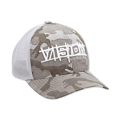 flexfit trucker grey camo cap