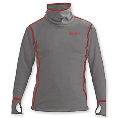 power hoodie top grey