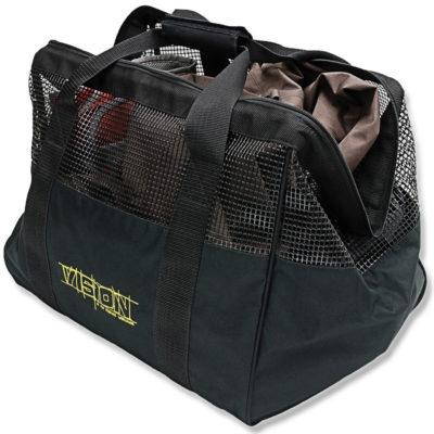vision wader bag black